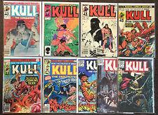 Kull The Destroyer # 14 21 29 1971 Destroyer 2 (1982) 1 2 4 6 8 1983 Marvel Lot