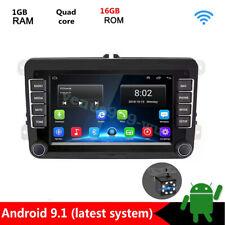 Android 9.1 Car DVD Player GPS Radio Stereo For VW Jetta Golf Passat Bora Amarok