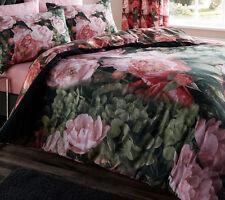 Espectacular King Size duvet Rosa Flores Floral jardines botánicos Vintage Patchwork