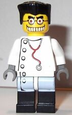LEGO Studios Mad Scientist Minifigure w/ Reversible Head From Set 1382 Brand NEW