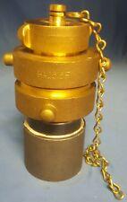 Dixon Ha20t25fha2515f 2 Female To 1 12 Male Brass Fire Hose Adapter