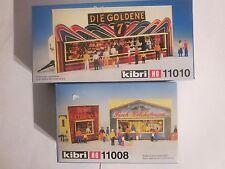 Kibri H0 11008/11010 Bausätze Schaustellerwagen   NEU + OVP