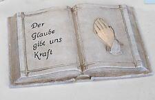 766588 - 2 grabdeko Livre 20x14cm aus pierre synthétique de main fabriqué NEUF