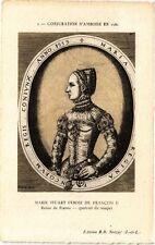 CPA  Conjuration d'Amboise en 1560 - Marie Stuart femme de Francois II. (229283)
