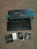 LOGITECH WIRELESS PERFORMANCE COMBO MX800 KEYBOARD AND LASER MOUSE