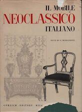 Meubles néoclassiques italien au 1760 au 1820. Morazzoni. Gorlich. 1955. Y14