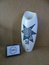 Vase Royal Boch - Expo 58 Bruxelles - Lucien De Roeck