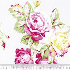 Rosen creme Stoff Blumen Baumwolle Patchwork Free Spirit Sunshine Roses