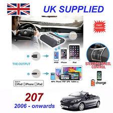 For Peugeot 207 iPhone 5 6 7 8 SE 10 mp3 Aux Digital Audio CD Changer Module RD4