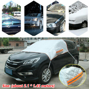 Car Windshield Cover Sun Shade Protector Winter Snow Frost Guard Aluminum Flm