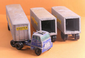Vintage MATCHBOX by Lesney USED MB No.9 Interstate Double Freighter Major Packs