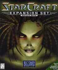 StarCraft: Brood War -- Add-On Expansion Pack Strategy RTS Windows Computer Game