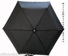 New Mens Black ShedRain Umbrella Brolly in Box