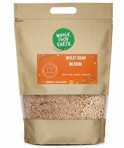Wheat Bran Medium    GMO Free   Vegan    Dairy Free   No Added Sugar