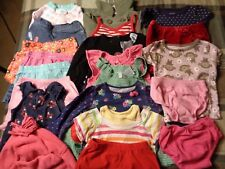 Lot of 21 pieces, girls 18 months clothing outfits.