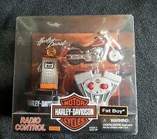 Harley Davidson radio control fat boy 49 mhz planet toys