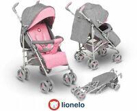 BABY STROLLER KIDS BUGGY PUSHCHAIR LIONELO IRMA PINK