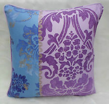 Designers Guild Fabric Cushion Cover~ 'Kashgar' Amethyst Colourway ~ 100% cotton