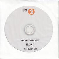 ELBOW Radio 2 In Concert very rare 2011 BBC internal promo only DVD-R EDIT