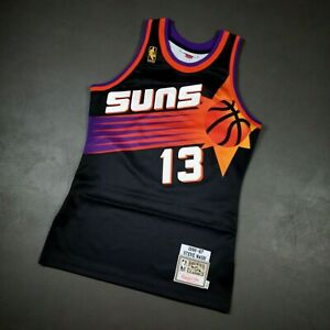 100% Authentic Steve Nash Mitchell & Ness 96 97 Suns Jersey Size 36 S Mens