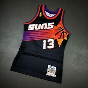 100% Authentic Steve Nash Mitchell & Ness 96 97 Suns Jersey Size 36 S Mens