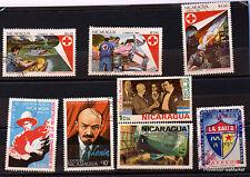 Petit lot de timbres   NICARAGUA   CA29