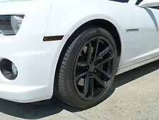 4 20x10 20x11  Camaro Style 41 ZL1 Staggered 2010-17 Satin Black Replica Wheels