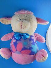 "Adorable  HTF 11"" Pink Lamb Plush Sugarloaf National Entertainment Network"