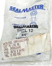 NEW SEALMASTER TREL 12  ROD END BEARING 3/4IN ID, TREL12
