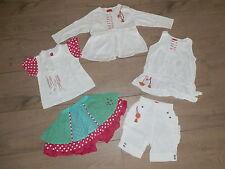 Marèse 18 mois TBE jupe/ tee-shirt/ Top tunique débardeur/gilet +pantalon KDO