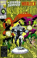Silver Surfer / Warlock - Resurrection { Marvel } {March 1993} # 1