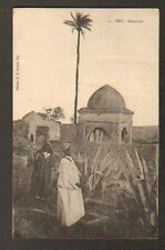 FEZ (MAROC) MARABOUT , gros plan animé en 1928