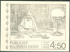 SWEDEN (H278) Scott 1092a, 45ore Publicist's Club Booklet
