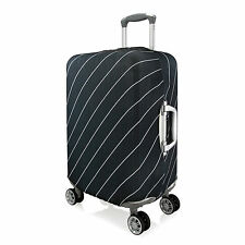 Striped Elastic Luggage Suitcase Protector Scratch Case Cover,Large Medium Small