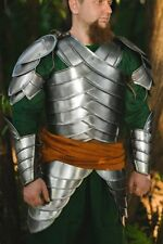 Medieval LARP Steel Armor - Second Age Elves Full Armor Suit Halloween Cosplay