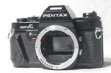 Pentax Super A 35mm SLR Film Camera Body Only SN1362541 w/Digital Data M