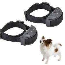 2 PCS Anti Bark Electronic No Barking Small Medium Dogs Shock Training Collar