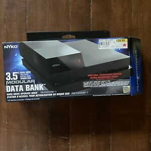"Open Box Nyko Data Bank Plus - Data Bank 3.5"" Hard Drive Upgrade Dock PS4"