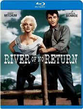 NEW BLU RAY  - RIVER OF NO RETURN - Robert Mitchum, Marilyn Monroe - ReMastered