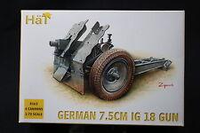 YI099 Hät 1/72 Figurine Militaire 8163 GERMAN 7.5CM IG 18 GUN 4 PIECES 2007