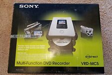 New listing New Open Box w/ Print Manual: Sony Vrd-Mc5 Dvdirect Compact Dvd Burner w/ Extras