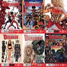 FEARLESS DEFENDERS 1 2 3 4AU 5 Luke Cage Daredevil Punisher Jessica Jones Comics