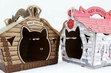 Cat Eco Scratcher  House