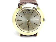 Le-Coultre Classic SOLIDO ORO GIALLO MIDAS. uomini dimensioni MECHANICAL WATCH