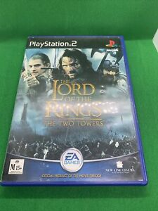 The Lord of the Rings The Two Towers Sony Playstation 2 Game Complete PAL PS2