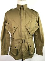 WWII US AIRBORNE PARATROOPER M1942 M42 REINFORCED JUMP JACKET- MEDIUM