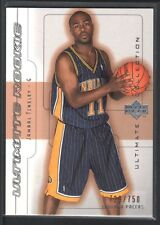 JAMAAL TINSLEY 2001/02 ULTIMATE COLLECTION #65 RC ROOKIE #/750 PACERS $15
