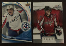 2 Alex Ovechkin Cards 2012 UD National Hockey Card Day #2 & 2013-14 RC Anth #97