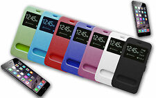 FLIP COVER HOUSSE étui S VIEW COMPATIBLE X APPLE iPHONE 6 5.5 ""