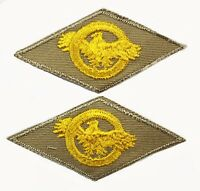 2 Pack Honorable Service WWII Army Navy Air Force Marine Patch Ruptured Duck